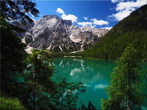 The wonderful Lake Prags in South Tyrol