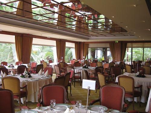 Es Castell Restaurant - Vista del Comerdor