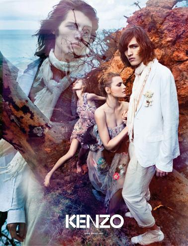 Marcel Castenmiller016_KENZO SS09 Ad Campaign