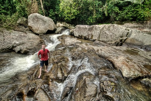 Doug at Namuang Waterfall