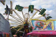 Kirmes (onnola) Tags: sky clouds himmel wolken fair funfair kirmes karussell carrousel rheinlandpfalz rummel jahrmarkt allround rhinelandpalatinate engers thebeautyandthebeast dieschneunddasbiest