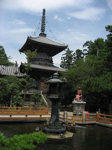 霊山寺(1 Shikoku pilgrim)