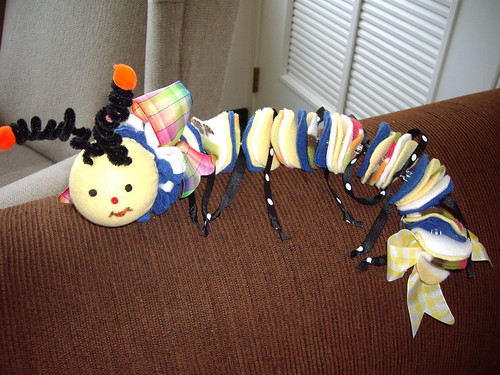 Centipede by quiltgranny.