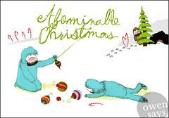 """#A1-925XMAS """"Abominable Christmas"""""""