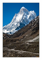 Shivling peak (Indranil Sinharoy) Tags: tr