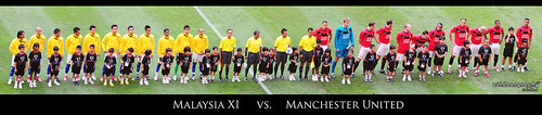 Line up : Malaysia XI vs. Manchester United in Panorama (by Sir Mart Outdoorgraphy™)
