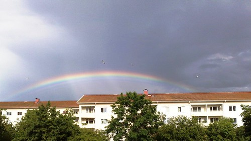 Rainbow in Scandinavia