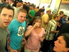 Beer Fest - Columbia Central gang