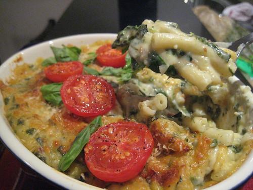 Spinach Pasta Bake!
