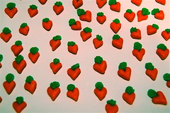 marzipan carrot hearts (kilikini) Tags: hearts marzipan carrots