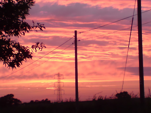 Red sky at night, shepards delight