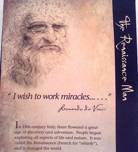 Leonardo's ambition