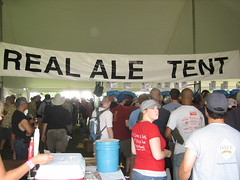 Real Ale Tent