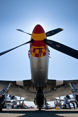 Mustang P-51 (r o s e n d a h l) Tags: salinas airshow mustang p51