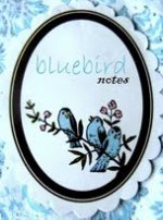 blue bird notes button 1