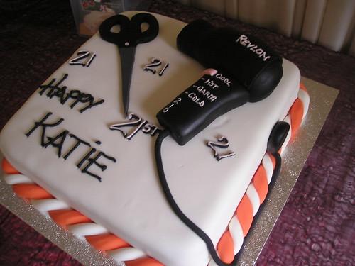 Hairdresser Cake - a photo on Flickriver