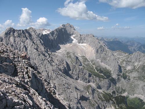 Zugspitze und Höllental