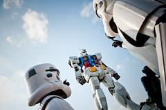 お台場ガンダムinストームトルーパー (hobby_blog) Tags: anime starwars costume cosplay stormtrooper gundam お台場 コスプレ コスチューム 機動戦士ガンダム ストーム・トルーパー