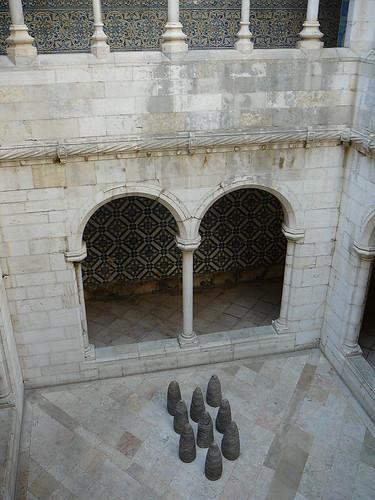 El patio del Museu, con más de Escales.