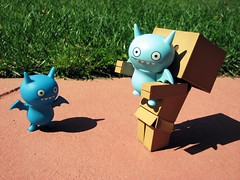 But I don't wanna fly right now.. (willycoolpics.) Tags: fly action lol already figurines figure p figures picnik uglydolls icebat danbo icebats revoltech danboard