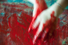 Les mains sales-35 (metatong) Tags: red color painting rouge blood hands acrylic hand main peinture killer murder dexter sang mains guilty murderer coupable acrylique tueur d300 redpaint meurtre meurtrier peinturerouge