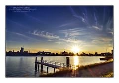 HDR Rotterdam Sunset