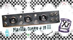 MANILLAS DE CUERO #19 (Extraviados en el 7) Tags: accessories wristband accesorios manillas