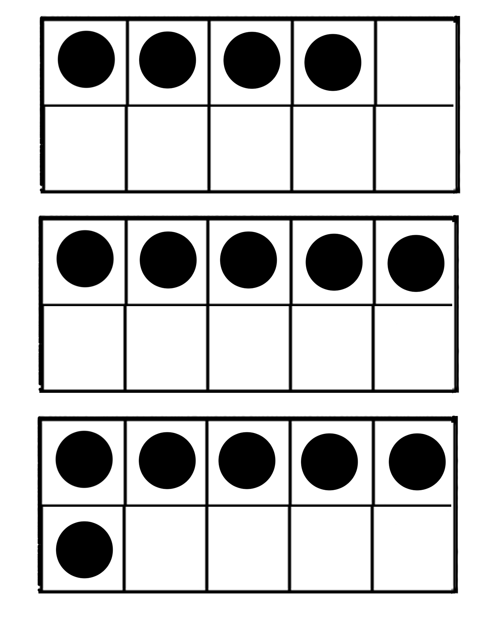Ten Frame Math Games http://theclarkchronicles.com/?p=1877