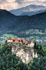 Castle Bled (Bas Lammers) Tags: lake castle canon europe slovenia bled hdr slovenie 50d mywinners