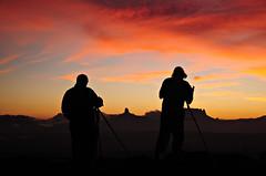 Foto al Amanecer. (jesusraydan) Tags: sunrise venezuela amanecer canaima silueta gransabana tepuy yuruani wadaka