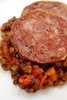 Cotechino with Red Lentil Stew© by Haalo