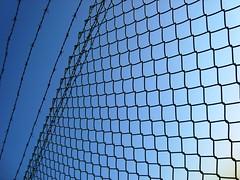 Hope (Gabrielle Z) Tags: blue sky net lines curves theturntable bestminimalshot gabriellez