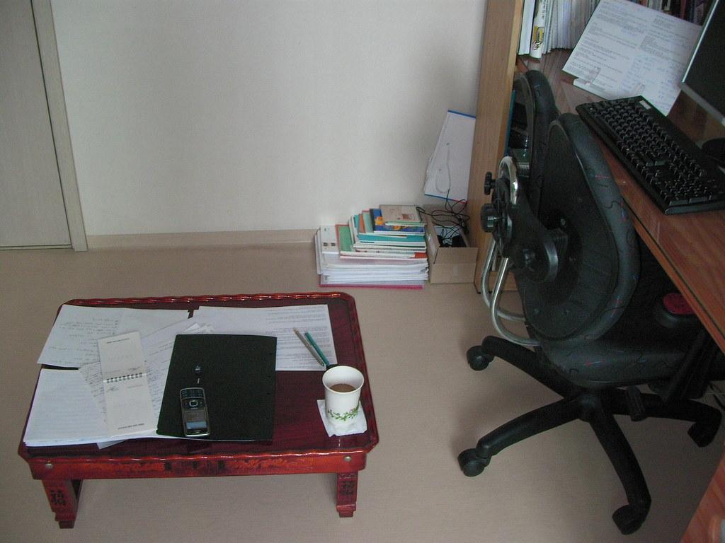 내 책상 - my first & second desk