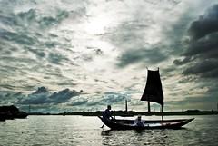 Boat.. (Shad0w_0f_Dark) Tags: sky clouds boat dhaka d200 1855 bangladesh bosila suddenwalk