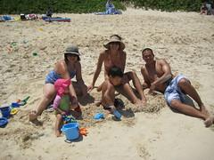 Kailua Beach on Labor Day