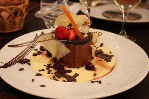 Dessert in Les Relais d  Alsace