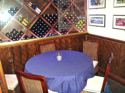Detalle de mesa interior