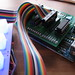 Rainbow ribbon cable, Arduino & unsped shield