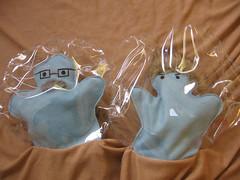 Amoeba puppets