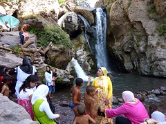 Waterfall in Imlil (Frans.Sellies) Tags: morocco maroc marokko