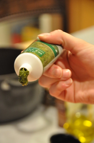Basil in a Tube