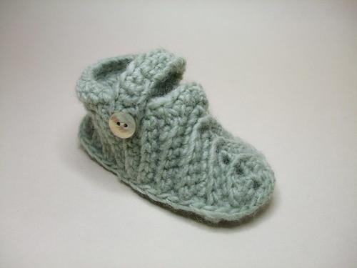 Crochet bootee