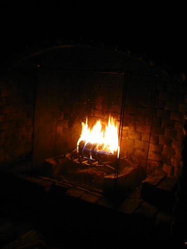 Fireplace heating
