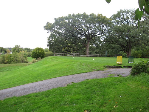 Hole 13 Tee at Hiawatha Golf Course