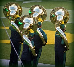 TUBA'D REFLECTIONS (Michael Lechner) Tags: college sports oregon reflections football band ducks eugene marching ncaa picnik tubas eugeneoregon goducks oregonducks collegefootball autzen omb collegesports pac10 division1 autzenstadium oregonducksfootball mightyoregon ducksspirit