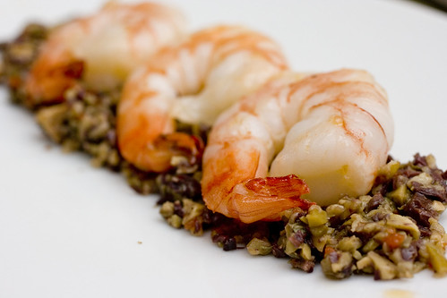 Olive Caper Relish with Shrimp 3