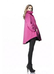 Isabella Oliver shirt coat pink