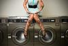 cara mia xo (metakephoto) Tags: sexy oregon vintage model legs machine retro haunted bloody laundromat washing pinup metakephoto jeffmawer caramiaxo