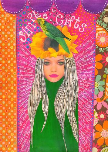 Parrot Head Girl