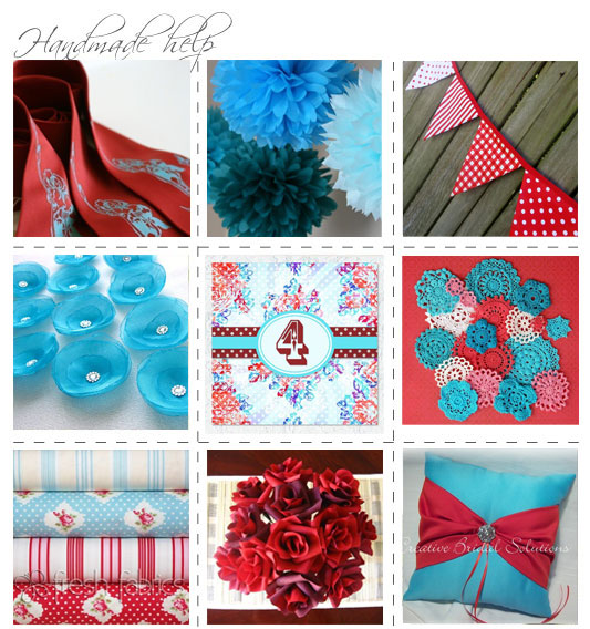 If you 39re stuck for where to begin creating your red and aqua wedding